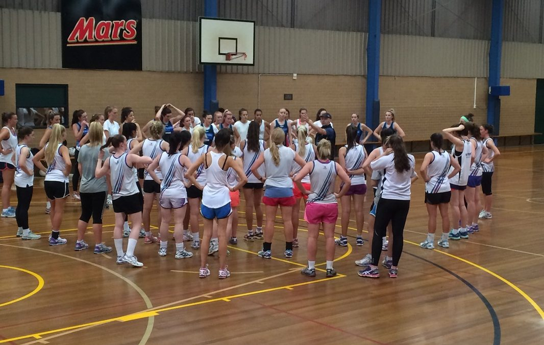 DDNA Rep Players train with Monash